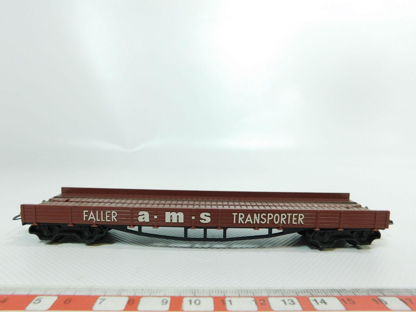 Bg809-0, 5  Faller AMS h0 dc 4541 auto Transporter auto carrello trasporto TRANSPORTER
