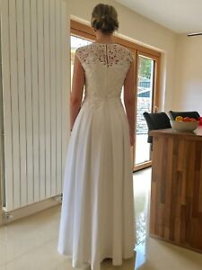 Image Is Loading Ted Baker Iyla Wedding Dress New And Unused