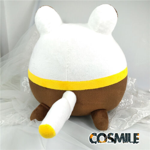 Steins;Gate Makise Kurisu Brown Upa うーぱ Cosplay Plush Toy Doll Handmade Anime