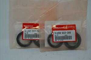 51490-GBF-J21 NOS Honda Front Fork Seal Set CR80R CR80RB CR85R CRF150R W11859
