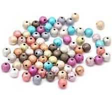 Lot de 100 Perles Rende Effets Magiques 8 mm