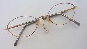 Brillengestell-Brille-Damen-nickelfrei-oval-Titan-sehr-leicht-Fassung-neu-size-S