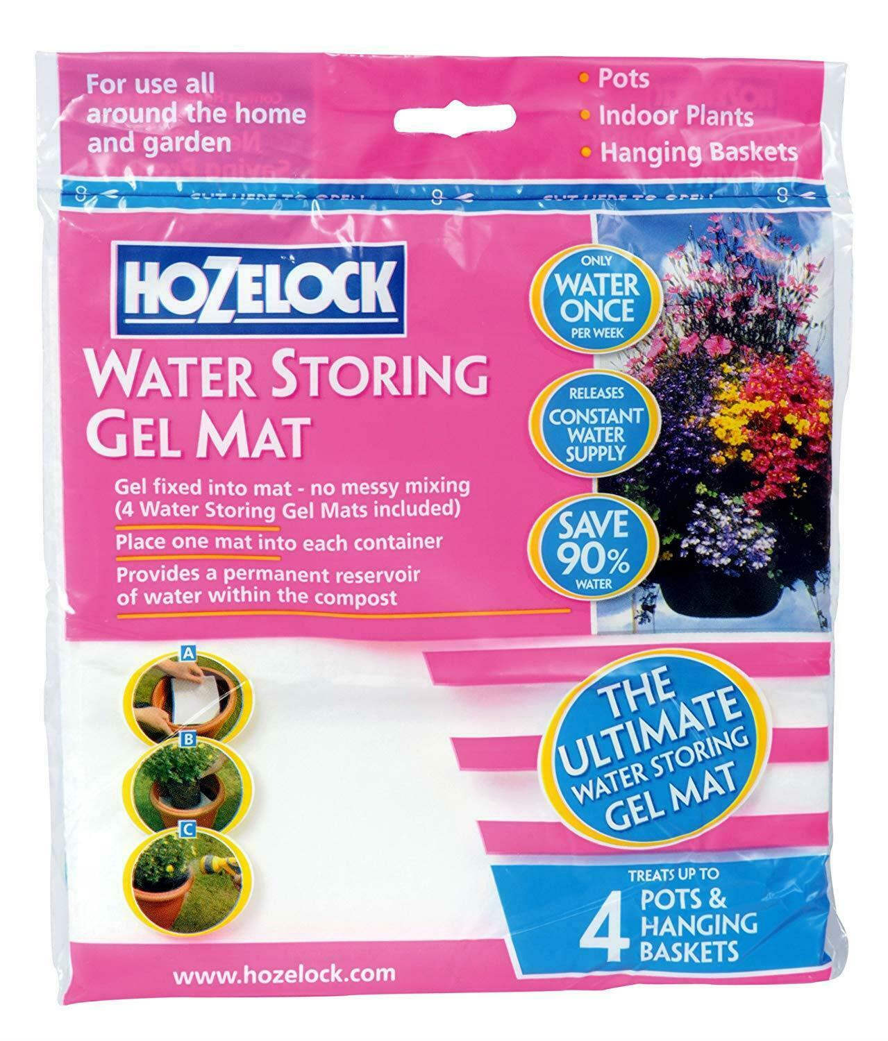 Hozelock Water Retaining Storing Gel Crystals For Plant Pots And Hanging Baskets