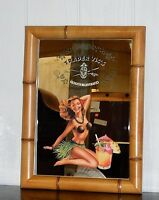 Brand Trader Vic's private Selection Large 23.5 Bamboo Decorated Mirror