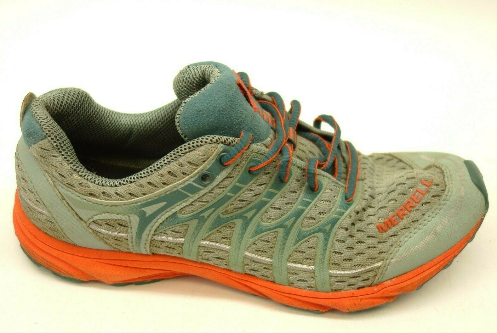 Merrell Mix Master Glide US 7.5 EU 38 Green orange Athletic Outdoor Trail shoes