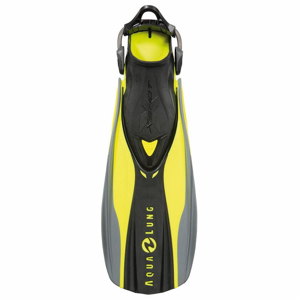 Aqua Lung x shot Fins - cierre - cal (amarilla) - compra a granel - tamaño normal