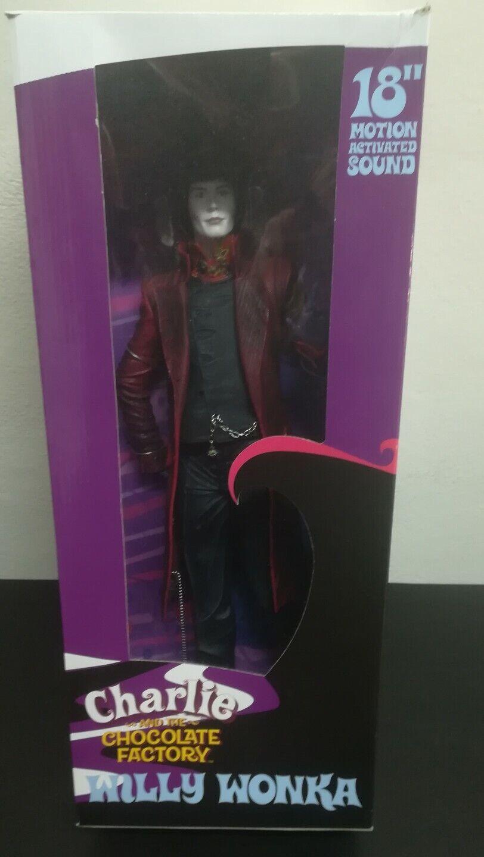 Neca Willy Wonka 18  45 cm Nuevo
