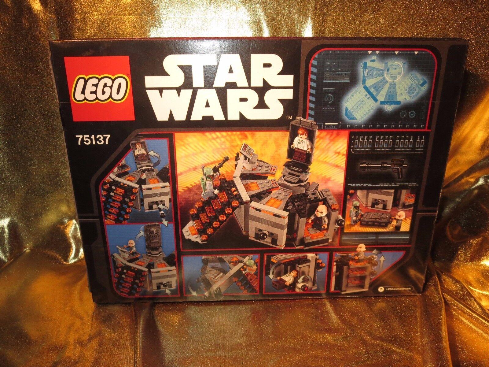 Star Wars Han Solo Carbon Einfrieren Kammer Lego 75137 Set 231 Teile Neu 75137 Lego 5af87c