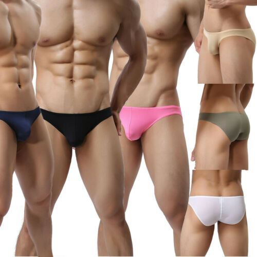 Fashion Men/'s Soft Boxers Briefs Underwear Shorst Underpants Polyamide 6 Colors
