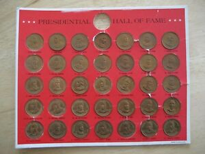 Presidential-Hall-Of-Fame-35-Coin-Collection