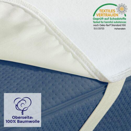 Incontinence Protection Coton Matelas Édition 90x200 100x200 120x200 140x200