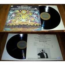 PIERRE BOULEZ-Haendel - Royal Fireworks Music Feuerwerksmusik LP Masterworks CBS
