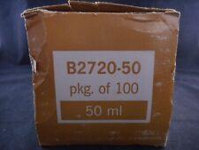 Dispo Plastic 30ml Beaker With Spout Opaque Without Graduations Polyethylene 90pk
