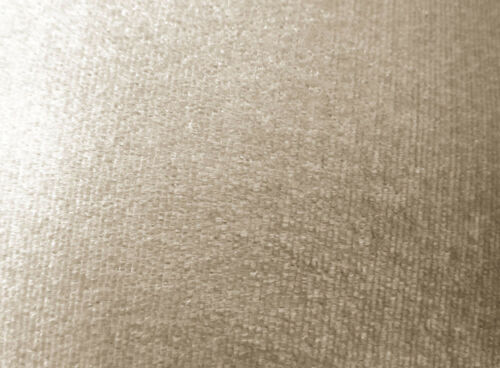 mo136n Pale Taupe Shimmer Velvet Style Round Shape Cushion Cover Custom Size