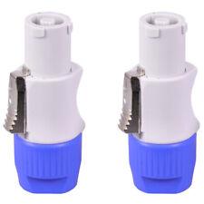 10Pcs//Lot Nac3Fca Speakon Plug 3 Pin Male Powercon Connector 20A 250V Ac Po G7J9