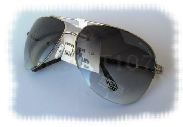 New Kenneth Cole Reaction Sunglasses KC1098 Silver/Purple