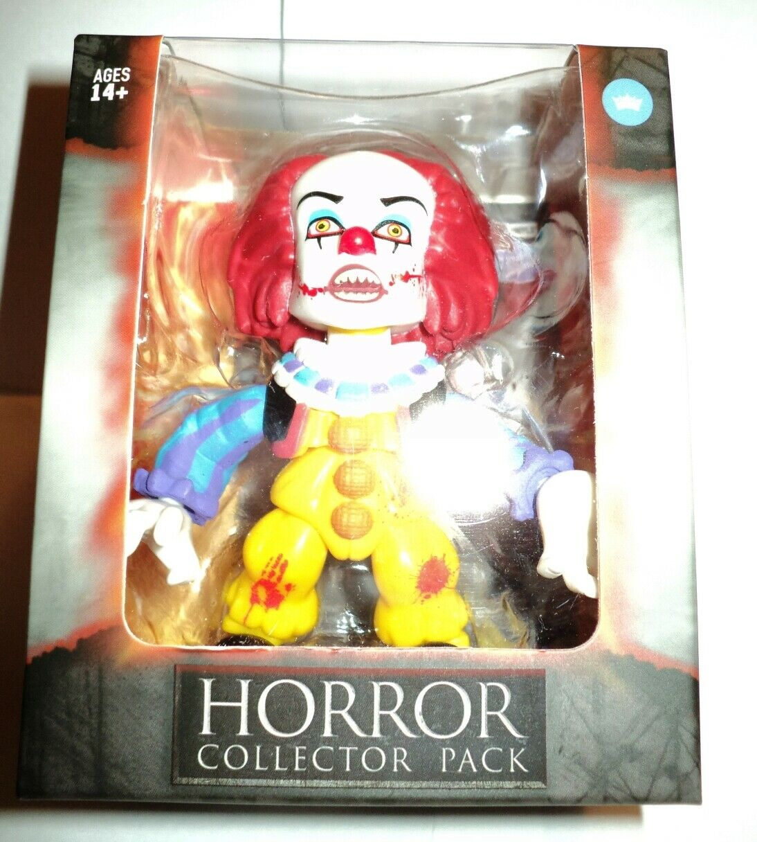 Rare Chase 196 Pennywise Bloody Horror Collector Pack The Loyal Subjects nuovo