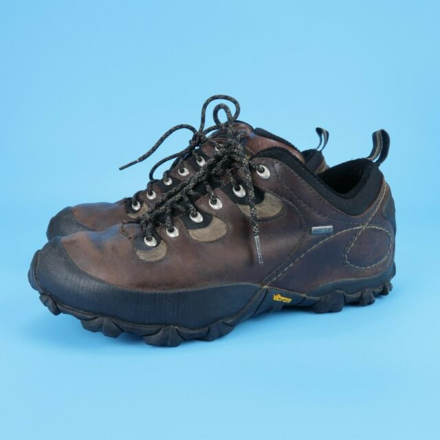 Patagonia Drifter Leather Men's Low Hiking Boots Gore Tex Vibram Sole Size 11 M