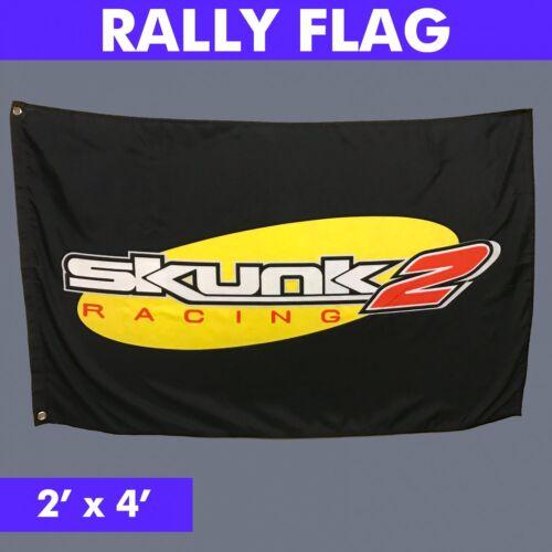 Skunk2 Dealer Flag jdm Greddy hks tein fatlace mugen drift sohc vtec em1 lowered