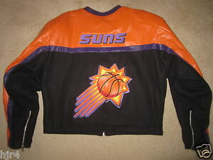 Phoenix-Suns-Jeff-Hamilton-NBA-Motorcycle-Cycle-Jacket-2XL-2X-mens-XXL
