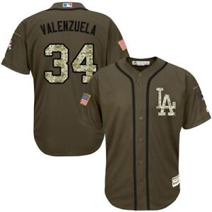 15ce54694 Image is loading Los-Angeles-Dodgers-Fernando-Valenzuela-Camo-Salute-to-