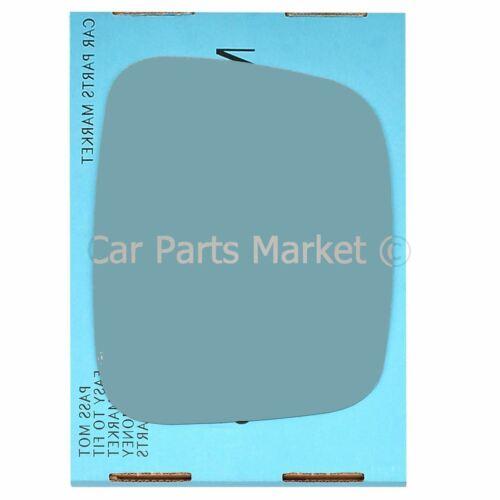 LHD Côté Droit Bleu Plat Aile Porte Miroir Verre Pour VW Transporter T5 03-09
