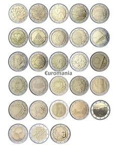 Finlande 2 Euro - Toutes Commémoratives Monnaies 2004 à 2020 Disponibles