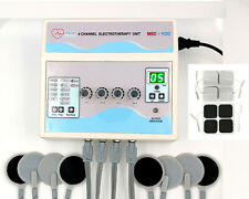 Prof Electrotherapy 4 Channel Pain Relief Chiropractic Therapy Ultrasound Unit