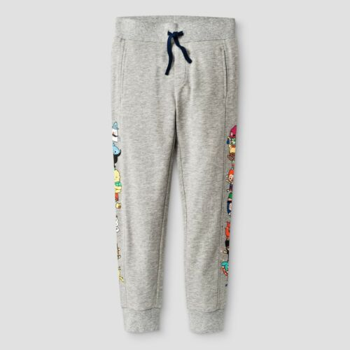 M XS Toca Boca Boys Stack Jogger Pants Grey L