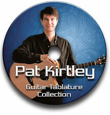 PAT KIRTLEY FINGERSTYLE GUITAR TABS TABLATURE SONG SOFTWARE CD