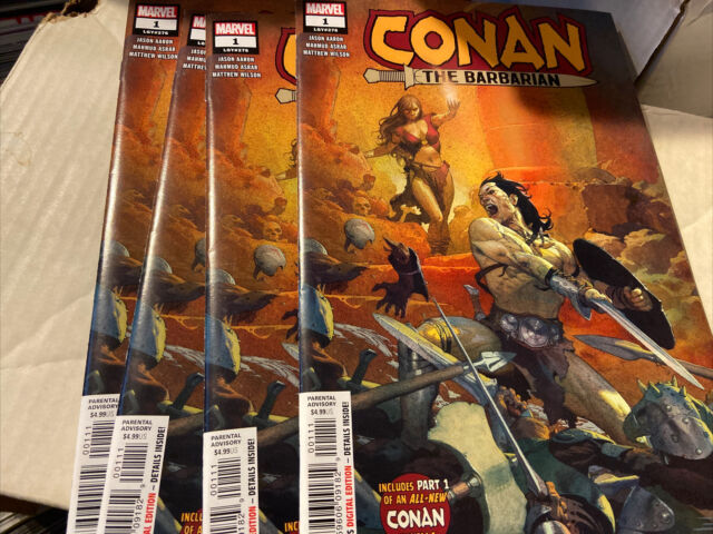 Conan the Barbarian #1 NM 2019 Marvel -