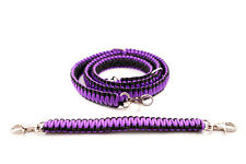 Firefighter Ems Police Paracord Radio Strap Sling 60 With 13 Stabilzer Purple