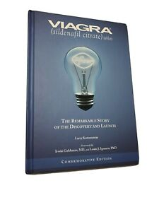 Collectible-Book-Rare-Viagra-The-Remarkable-story-Of-Discovery-amp-Launch