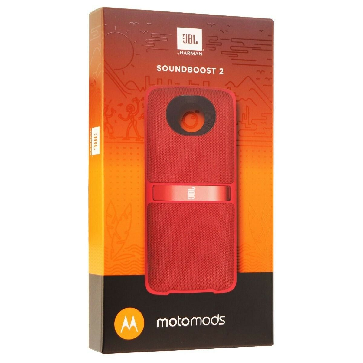 JBL MotoMod Soundboost 2 Audio Speaker Mod for Motorola Moto