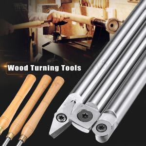 Wood Turning Tool Carbide Tip Chisel Straight Multi Lathe