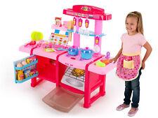 Spielküche Kinderküche Kinder Küche KP3470BLU Spielzeug mit Zubehör ...