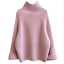 thumbnail 10 - Women-039-s-Knitwear-Turtleneck-Sweater-Loose-Long-Sleeve-Pullover-Jumper-Baggy-Tops