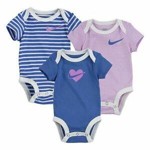 Girls in bodysuits pics 3 Nike Baby Girls Bodysuits Size 6 Months Shower Gift One Piece Purple Blue Ebay