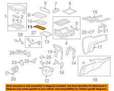 Genuine Honda Pilot Center Console Liner Mat *Nh167L* 83413SZAA01ZA