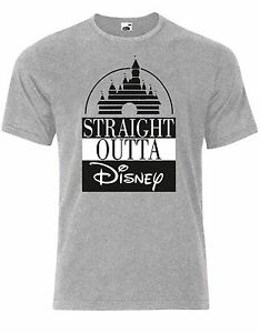 8be1f574c Straight Outta Disney Funny Movie Compton Quote Mens Tshirt Tee Top ...
