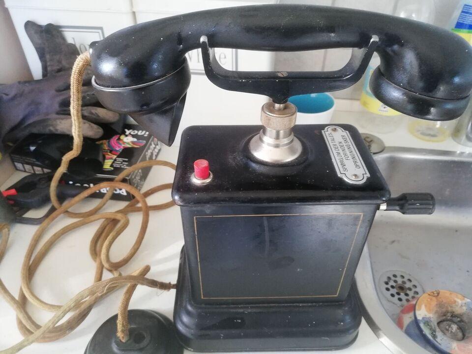 Anden telefon, Ktas, Bordtelefon