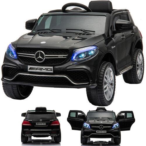 Mercedes-Benz 63s AMG Coche niños gle niños vehículo eléctrico Negro
