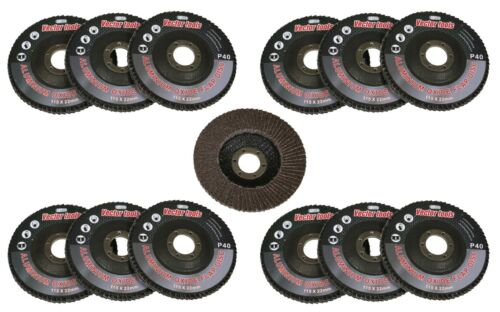 "10pc 100 Grit Flap Sanding Grinding Disc 4 1//2/"" x 7//8/"" Aluminum Oxide A//O NEW"