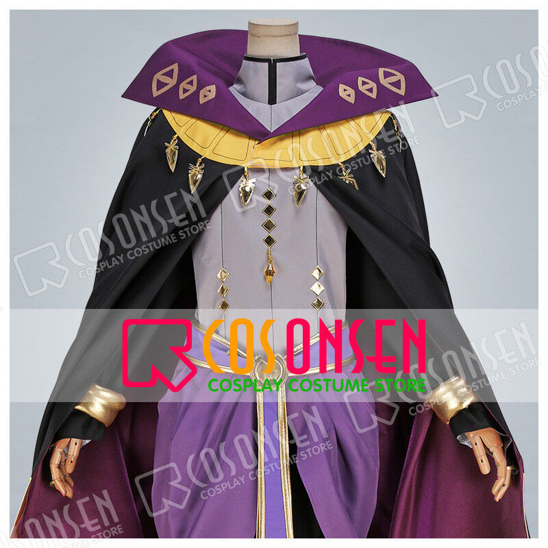 Fire Emblem Henry Purple Cosplay Costume Cosonsen All Sizes Custom