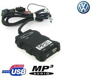 Boitier-USB-SD-AUX-MP3-Volkswagen-EOS-Golf-V-VI-Golf-Polo-Passat-Tiguan-Touran
