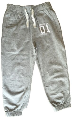 100 /% COTTON KIDS BOYS GIRLS JOGGERS JOGGING BOTTOMS 1 2 3 4 5 6 YEARS BRAND NEW