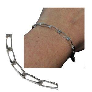 Bracelet-gourmette-en-argent-925-maille-cheval-21cm-bijou