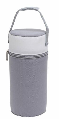 silbergrau Rotho Babydesign Isolierbox Warmhaltebox für Babyflaschen weiß