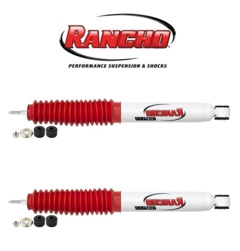 For GMC Sierra 3500 2500HD Pair Set Of 2 Front Shocks w// 0 Lift Rancho RS5000