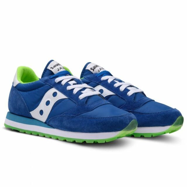Shoes Saucony Jazz Original New Collection Summer 2019 s2044 256 BlueLime